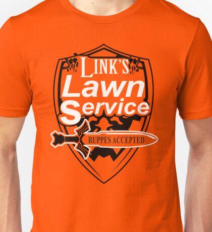 Link's Lawn Service T Shirt Gaming Retro Funny Zelda Tee Game Ocarina nice boy Unisex T-Shirt
