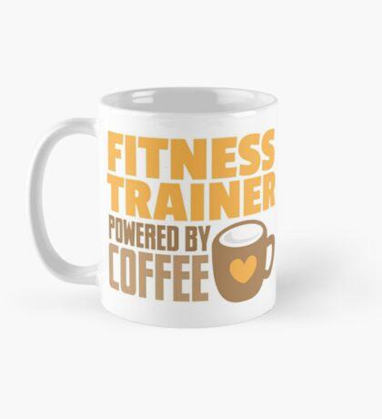 Fitness trainer powered by coffee Mug