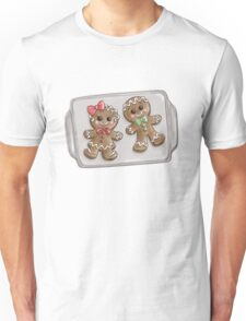 Gingerbread Couple Cookies Unisex T-Shirt