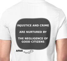 Afa - Injustice & Crime Unisex T-Shirt