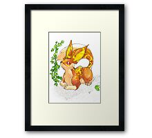 Pocket Hash Framed Print
