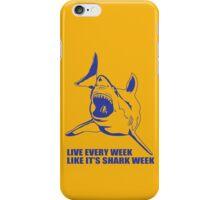 LIVE EVERY WEEK LIKE SHARK WEEK FUNNY SUPER SOFT TSHIRT 30 ROCK TEE EARTH NBC iPhone Case/Skin