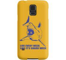 LIVE EVERY WEEK LIKE SHARK WEEK FUNNY SUPER SOFT TSHIRT 30 ROCK TEE EARTH NBC Samsung Galaxy Case/Skin