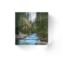 Johnstone Canyon Acrylic Block