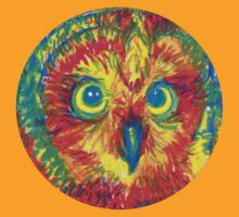primary color owl by HiddenStash