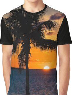 Key Largo Sunset Graphic T-Shirt