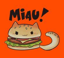 Cats Food - cheeseburger cat Kids Clothes