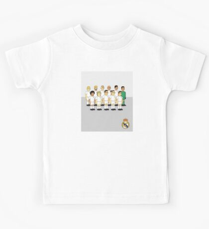 Real Madrid as simpson style Kids Tee