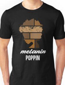 Melanin poppin Unisex T-Shirt