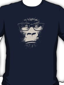 Hipster Gorilla With Glasses T-Shirt