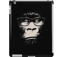 Hipster Gorilla With Glasses iPad Case/Skin