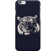 Hipster Tiger With Glasses iPhone Case/Skin
