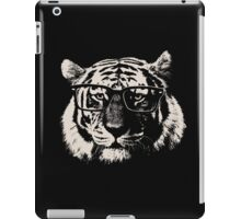 Hipster Tiger With Glasses iPad Case/Skin