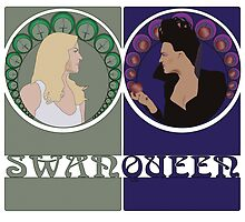 Swan Queen Nouveau by dominictyler