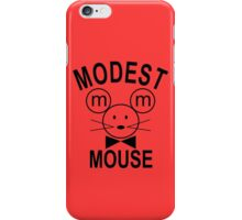 Modest Mouse Rock Band Black Hooded Sweatshirt Sz S M L XL iPhone Case/Skin