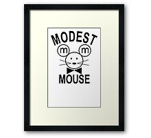 Modest Mouse Rock Band Black Hooded Sweatshirt Sz S M L XL Framed Print