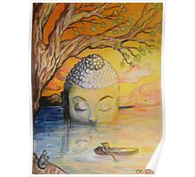 Buddha Blessed Poster