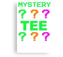 Mystery Tee Shirt Random Funny Cheap T-Shirt Pop Culture Hipster Graphic Sale Canvas Print