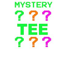 Mystery Tee Shirt Random Funny Cheap T-Shirt Pop Culture Hipster Graphic Sale Photographic Print