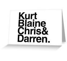 KBC&D Greeting Card
