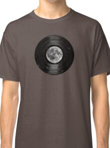 Moon In Space Vinyl LP Record Classic T-Shirt