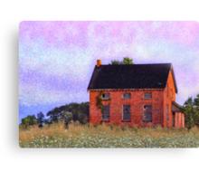 Abandoned Abode Canvas Print