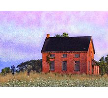 Abandoned Abode Photographic Print