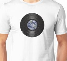 Earth In Space Vinyl LP Record Unisex T-Shirt