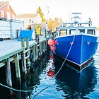 Northwest Cove Lobster fishing by Roxane Bay