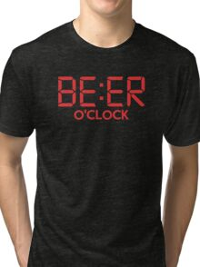 Beer O'Clock Tri-blend T-Shirt