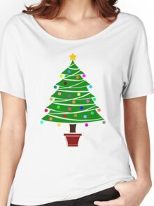 Colour Me Christmas Tree Women's Relaxed Fit T-Shirt
