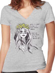 spirit Women's Fitted V-Neck T-Shirt