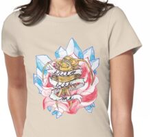 trilo bite me Womens Fitted T-Shirt