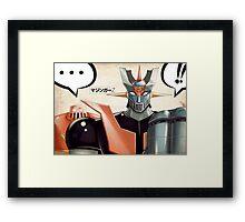 Mazinger-z Framed Print