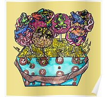 cake pop frog box (color) Poster