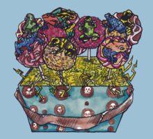 cake pop frog box (color) by HiddenStash
