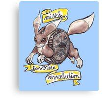 Milk's Favorite Eeveelution Canvas Print