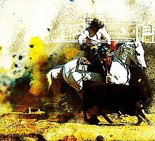 Working Arabian Stockhorse by Janice O'Connor