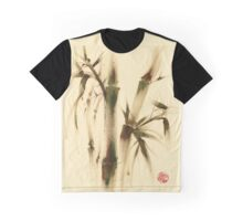 """Awareness"" Sumi-e bamboo painting on paper Graphic T-Shirt"