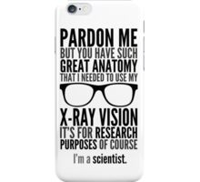 I'm A Scientist iPhone Case/Skin