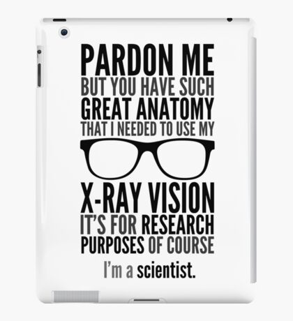 I'm A Scientist iPad Case/Skin