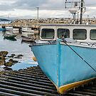 Mill Cove fishing wharf by Roxane Bay