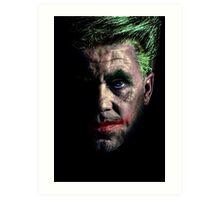 An Old Joker Art Print