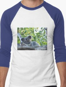 Koala , in my own backyard,Gold Coast  Men's Baseball ¾ T-Shirt