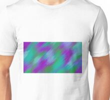 purple green and pink painting texture abstract background Unisex T-Shirt