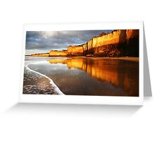 Morning Walk,Anglesea,Great Ocean Road,Australia. Greeting Card