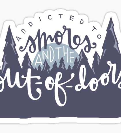 Smores & The Out-of-Doors Sticker
