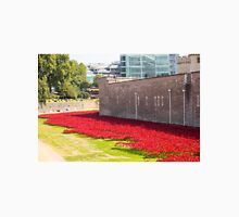 Ceramic poppies at the Tower of London T-Shirt