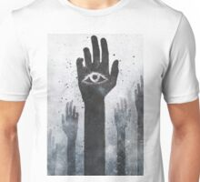 T-SHIRT WHITE SMALL MENS Unisex T-Shirt