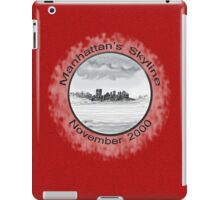 New York City skyline in November 2000 from the Staten Island Ferry.* iPad Case/Skin